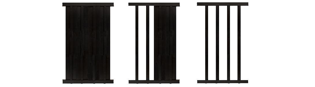 Aluminum fence ornamental privacy slats